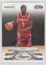 2009 Prestige Bonus Shots Black Signatures /100 Jermaine Taylor #232 Rookie Auto