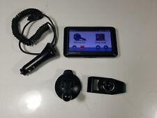 GARMIN NUVI 265W Black GPS Navigation System & Car Charger BUNDLE WORKING