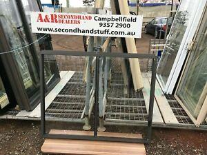 NEW Aluminium SLIDING WINDOWS 1200h x 1500w (Approx Size) 5 COLOURS