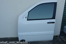 MERCEDES-BENZ W163 ML FRONT LEFT PASSENGER DOOR WHITE AMG ML270 ML320 ML430 ML55