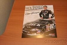 2007 Clint Bowyer Jack Daniels Chevy Impala NASCAR postcard
