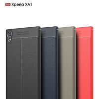 Ultra Thin Luxury PU Leather Soft TPU Shockproof Case Cover For Sony Xperia XA1