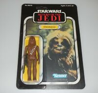 *RECARDED* 1983 Star Wars ROTJ Chewbacca Figure Complete Sealed CUSTOM Card Back