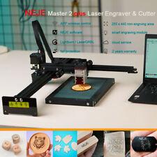 Neje Master 2 Plus 30w Laser Engraver Cutting Machine Cnc Router 255x440mm Us