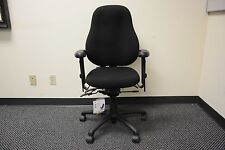 Neutral Posture small High Back Executive Chair Ergonomic Office swivel fabric