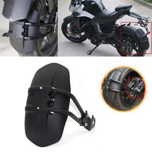 PVC Motorcycle 12''-18'' Rear Fender Styling Mud Dust Wheel Splash Guard Bracket