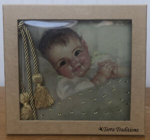 Terra Traditions Baby Photo Album With Swarovski Crystal Fits 200 4x6 Photos💚