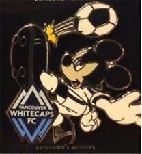 2016 MICKEY MOUSE VANCOUVER WHITECAPS FC KICKING SOCCER BALL Disney PIN