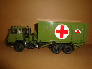 1/43 China People's Liberation Army PLA STYER SX2190 ARMY Medical TRUCK model