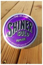 Shiner Gold Pomade 4 Oz Psycho Strong Hold Wax Gel Hair Styling Barber USA NEW