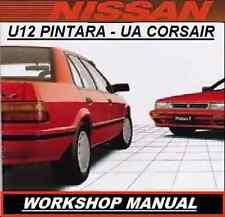NISSAN U12 PINTARA FORD UA CORSAIR WORKSHOP REPAIR MANUAL CDROM KA24E CA20E