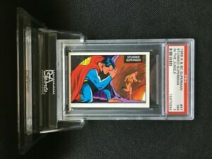 1968 A&BC Superman in the Jungle STUNNED SUPERMAN #47 NM 7 - Vintage garno PSA