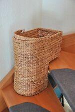 Stufenkorb mit Tragegriff Treppenkorb Wasserhyazinthe Tragekorb Natur