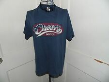 Vintage Cheers Boston Tee Shirt Blue Size M