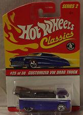 Hot Wheels Collectors.Com Customized VW Drag Truck Club Car #25 of 30 Series 2
