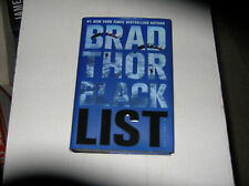 Black List by Brad Thor (2012, Hardcover) SIGNED 1st/1st
