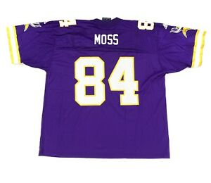 Vintage Randy Moss Minnesota Vikings NFL Size XL Adidas Mens Jersey #84