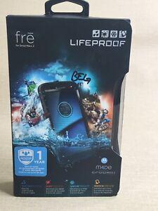 "New Waterproof Case by Lifeproof Fre for 5.5"" Motorola Droid Maxx 2 Black"