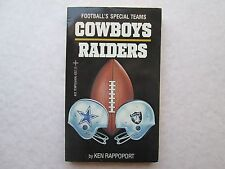 COWBOYS RAIDERS Football's Special Teams BY KEN RAPPOPORT 1982 pb ACE TEMPO BOOK