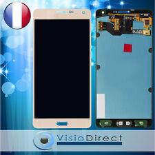 Écran complet pour Samsung Galaxy A7 2016 SM-A710F or vitre tactile + écran LCD