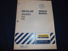 New Holland F5A F5C Engine Service Shop Repair Workshop Book Manual