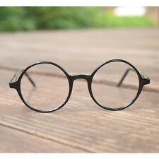 1920s Vintage oliver retro eyeglasses 19R0 Black Round kpop peoples frames