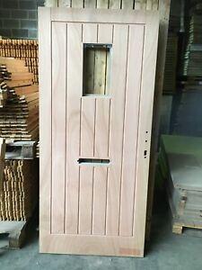 New Unused Paint Grade Jeld Wen Insulux External Door 920mm x 2035mm x 55mm