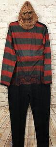 Freddy Krueger Nightmare Elm union suit pajamas men Large New one piece D1