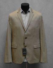 C0 NWT DANIEL HECHTER Chinchilla Beige Cotton Stretch Blazer Size 44 $250