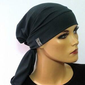 Kopftuchmütze/Chemomütze tannengrün  Tuch Krebs, Kopftuch Chemo, Cabriomütze,