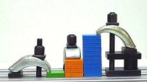 OREX Spanneisen Spannbügel Schnellspanner Spannelemente für T-Nute 8 - 18 mm