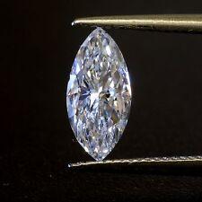 loose GIA certified marquise cut 1.02ct diamond SI1 E vintage estate antique
