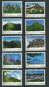 D 1900.Japan 2014. Japanese Mountains Series No.4  Gestempelt,Used