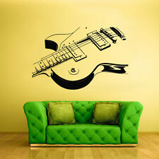 Wall Decal Vinyl Sticker Decals Guitar Music (Z1299)