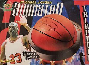 Michael Jordan 23 Chicago Bulls Upper Deck Basketball Animated Telephone 1999