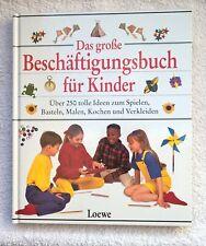 Das große Beschäftigungsbuch für Kinder