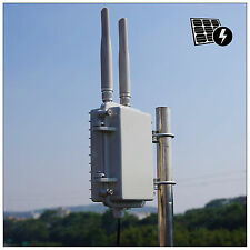 Wireless Range Extender Outdoor mini Access Point 300M 28dBm MIMO 2*5dBi Antenna