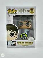 FUNKO POP!: HARRY POTTER - HARRY IN INVISIBILITY CLOAK PC EXC. #111 *UK STOCK*