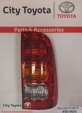 New Toyota Genuine Rear Right Combination Light Hilux 8/04-Current 815510K010