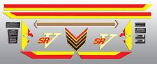 1982 YAMAHA SRV540 SRV 540 DECAL GRAPHIC KIT LIKE NOS