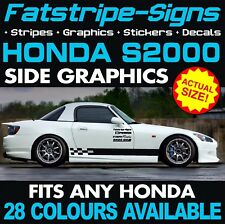 HONDA S2000 GRAPHICS STRIPES DECALS STICKERS TYPE R S VTEC 2.0 GT AP1 AP2 MUGEN