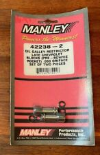 Manley Oil Restrictor Late Chevrolet Blocks 42238-2 New in Package