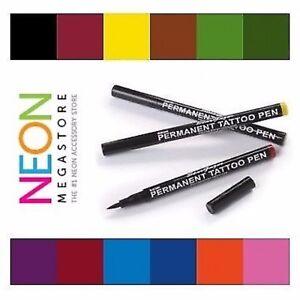 Stargazer Semi Permanent Body Tattoo Pen - 12 Colours Available + Correction Pen