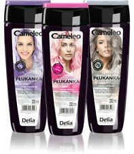 DELIA Cameleo SILVER, VIOLET/PURPLE, PINK TONER  Toning for Blond, Grey HAIR