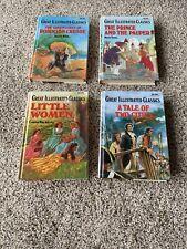 Great Illustrated Classics Lot Of 4