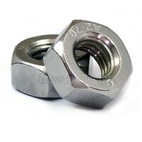 Metric Stainless Steel Hex Nuts DIN 934  M2 M2.5 M3 M3.5 M4 M5 M6 M8 M10 M12 M14