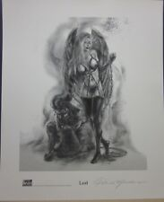 Seven Deadly Sins : Lust - Patrick Meadows - Hand Signed Print