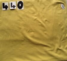 Mustard coloured soft feel 4-way stretch fabric remnant 440