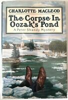 The Corpse in Oozaks Pond - Charlotte MacLeod PRISTINE Hardcover Book Club 1987