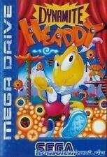 Sega Mega Drive juego-Dynamite Headdy con embalaje original